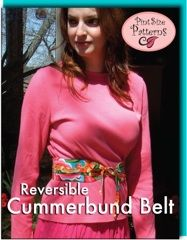 Reversible Cummerbund Belt